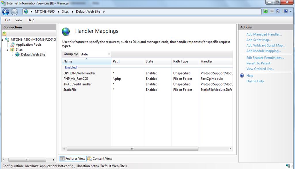 Install IIS, PHP, MySQL & Joomla on Windows 7 - Macrotone Blogs